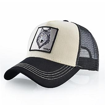 Vara Unisex Hip Hop brodate Animal Men Baseball Caps Femei respirabil