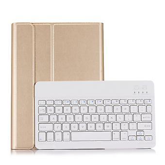 ST870S Pour Samsung Galaxy Tab S7 T870/T875 11 pouces 2020 Ultra-mince Boîtier en cuir clavier Bluetooth détachable avec stand & amp; Fonction de sommeil & Rétro-éclairage (
