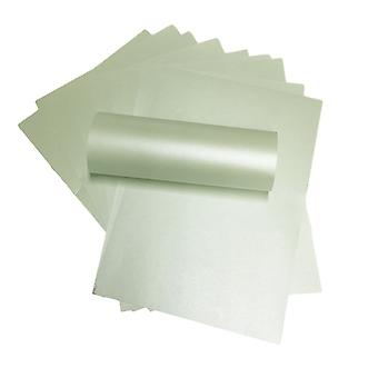 A4 Paper Pearlescent Peregrina Majestic Fresh Mint Green 120gsm