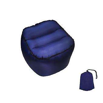 Nylon Inflatable Stool Air Chair Folding Portable Fishing Stool