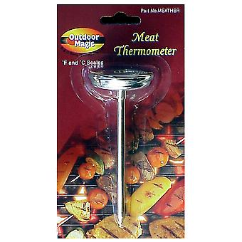 Outdoor Magic Standard Meat Thermometer (F & C Scales)
