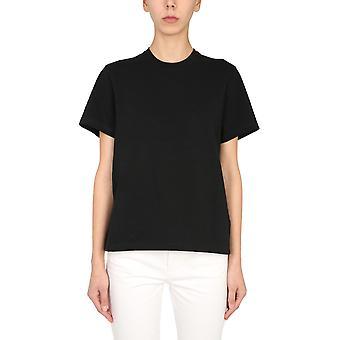 Bottega Veneta 649060vf1u010000 Dames's Zwart Katoen T-shirt