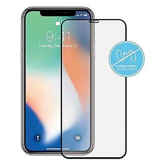 Protector de pantalla de vidrio templado iPhone 11 Pro KSIX antibacteriano 2.5D