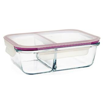 Hermetic Lunch Box Quid Frost Transparent Crystal 1