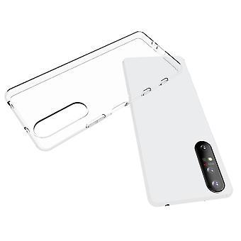 Coque Pour Sony Xperia 5 Ii, Housse De Protection En Silicone De Haute Qualité, Transparent