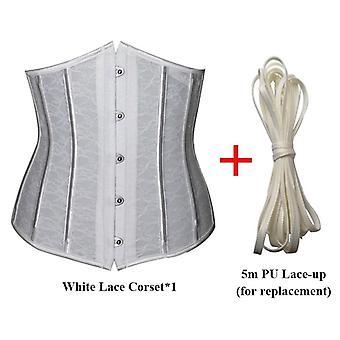 Sexy korzet underbust ženy gothic top krivka shaper modelovanie popruh chudnutie
