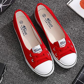 Casual Flats Shoes Shallow Mouth Flats Platform, Shoes Slip On Summer Women
