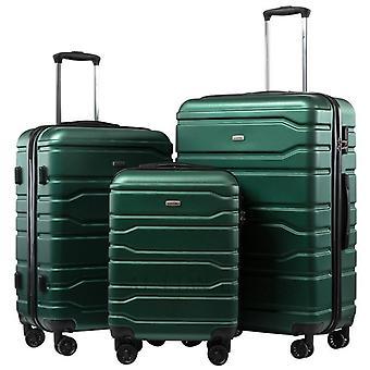 Valigia da viaggio con set bagagli rotolante