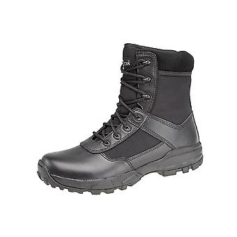 Grafters Mens Stealth II Leather Combat Boots