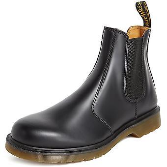 Dr. Martens mujeres's zapatos 2976 loco cuero caballo cerrado tobillo del dedo...