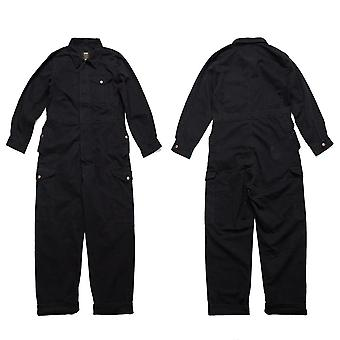 Multi-pocket Work Coverall Mens Safari Style, Cargo Jumpsuit, Worker Uniform
