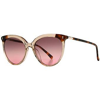 Whistles Elegance Slim Premium Cat Eye Sunglasses - Light Brown/Tortoise Shell
