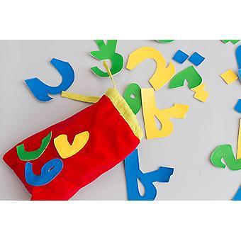 Arabische Alphabet Tasche