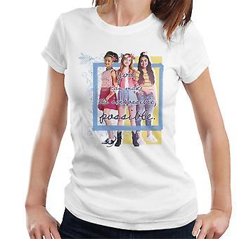 Holly Hobbie Du kan gøre det umulige mulige kvinder's T-shirt