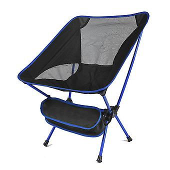 Ultralight Folding Camping Chair, Fishing Picnic Bbq Hiking Outdoor Tools