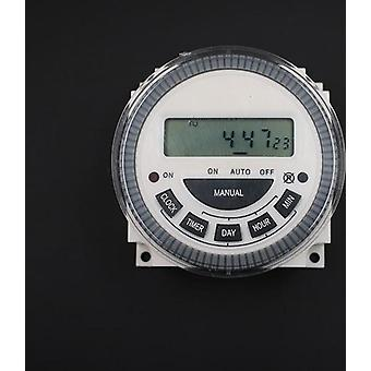 Digital Lcd Power Timer Programmable Time Switch Relay With Ul Listed Relay