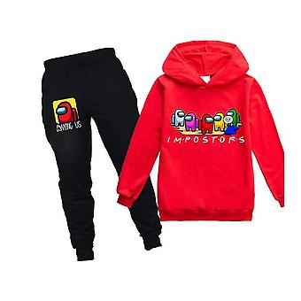 Game Among Us Children Sweatshirts Pants 2pcs Sets Boys Hoodies  Clothes Clothing