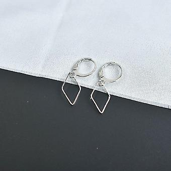Small Cross Drop Dangle Earrings