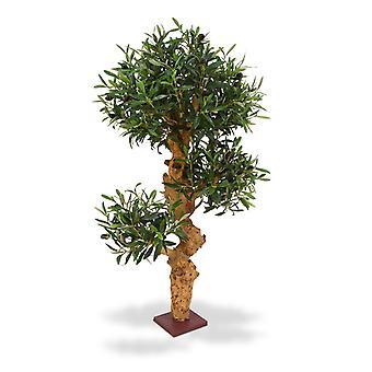 Kunstmatige Olijf Bonsai boom 90 cm te voet