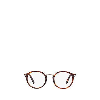 Persol PO3185V havana male eyeglasses