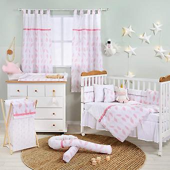 Colección de ropa de cama pink feather baby