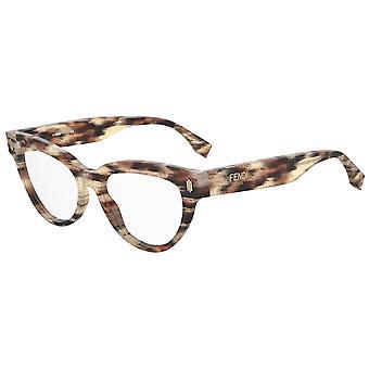 Fendi FF0443 VTH Havana Python Glasses