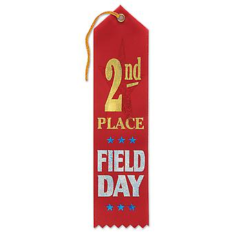 2Nd Place Field Day Award Ribbon (Pack of 6)