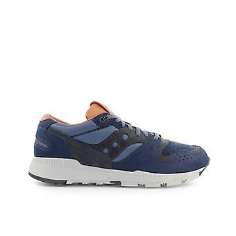 Saucony Azura Navy Blu Brown Sneaker