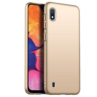 Ultra thin case for samsung a10 anti fall shockproof cover gold kc852