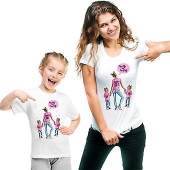 Uudet perhevaatteet, t-paita äidille ja vauvalle