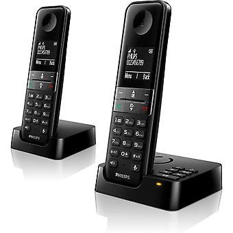 Wokex D6351B/38 DECT Telefon Schnurlostelefon mit Anrufbeantworter