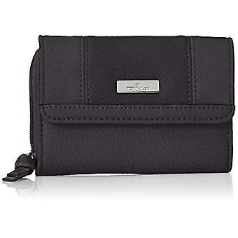 Tom Tailor Acc Juna - Women's Wallets, Black (Schwarz), 14x10x4 cm (B x H T)