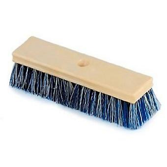 滨特尔彩虹 R111584 10_quote; 带卷曲毛刺的木刷 - 蓝色/白色