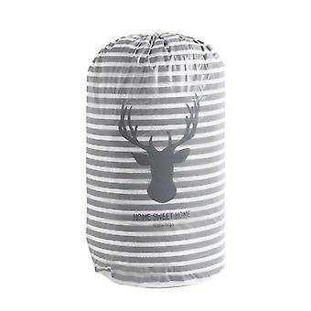 Cartoon Storage Bag Large Closet Organizer Beam  |Foldable Storage Bags(Striped Deer)