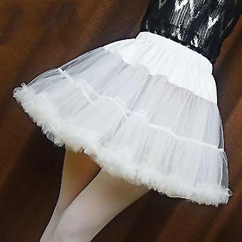 Women Ruffled Short Petticoat, Fluffy Bubble Tutu Skirt