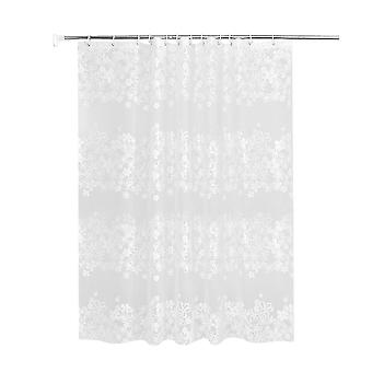 Size 3 picture 1 1.8x1.8m peva thicken shower curtain waterproof bathroom polyester moisture-proof partition curtain dt3815
