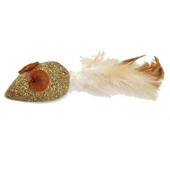Nayeco Catnip Mouse With Feather (Cats , Toys , Mice)