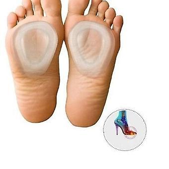 Silicona tacones altos antideslizante alivio del dolor parche de cuidado de los pies