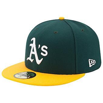 New Era 59Fifty Cap - HITELES ON-FIELD Oakland Athletics