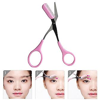 Mini Brow Class Cutting Scissors Easy-to-use With Comb Cutting Scissors
