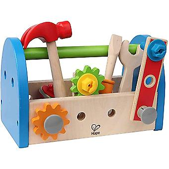 Kid's Wooden Tool Box And Accessory Play Set