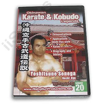 Karate kobudo de Okinawa #20 Dvd Senega Uechi -Vd6977A