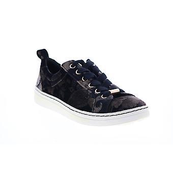 Earth Adult Womens Zag Print Velvet Lifestyle Sneakers