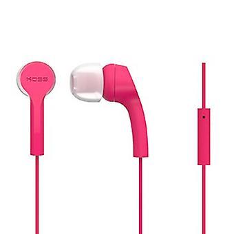 "Koss ""KEB9i"" In-Ear Headphones, pink"