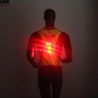 Thin Breathable Night Running Cycling Led Safety Security Reflective Vest