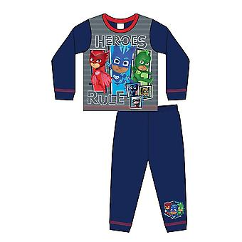 PJ Masques Garçons Heroes Règle Pyjamas