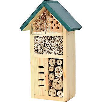 22648e Insektenhotel -Zur Goldenen Biene-, fertig gebautes Insektenhaus, Bienenhotel aus stabilem