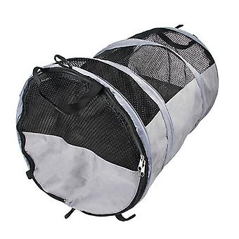 Dog car seat cover round cage