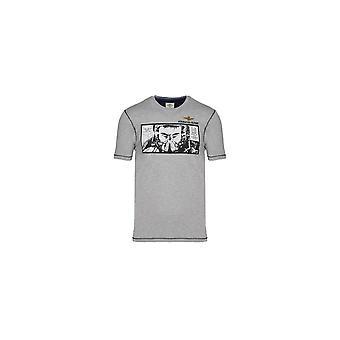 Aeronautica Militare TS1864J46917 universal hela året män t-shirt