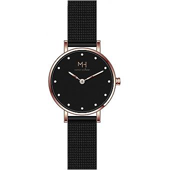 Marco Milano Black Stainless Steel MH99214SL3 Women's Watch